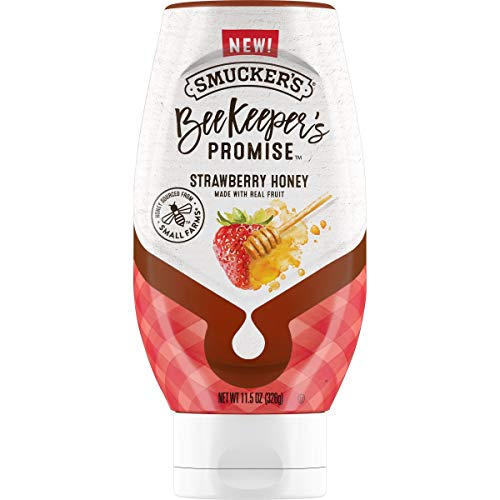 Smucker's BeeKeeper's Promise Strawberry Honey, 11.5 Ounces