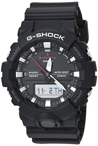 Casio Men's Digital GA800-1A Japan-Automatic Resin Watch Black