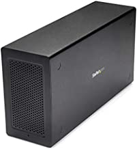 StarTech.com Thunderbolt 3 PCIe Expansion Chassis w/DisplayPort PCIe x16 External PCIe Slot for Thunderbolt 3 Devices (TB31PCIEX16)