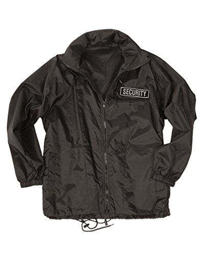 Mil-Tec Security Windbreaker Schwarz Gr.3Xl [Misc.]