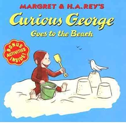 Margret & H.A. Reys Curious George Goes to the Beach (Curious George 8x8 (Quality)) (Paperback) - Common