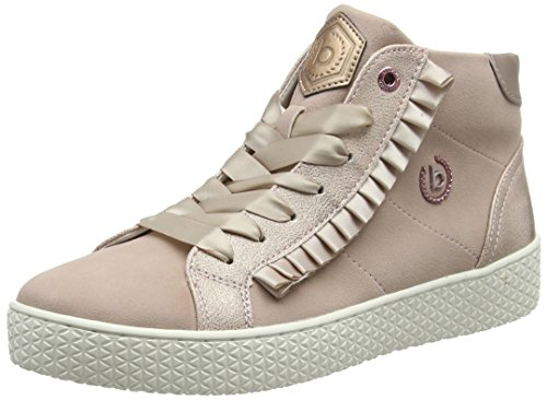bugatti Damen 422525305959 Hohe High-Top Sneaker, Pink (Rose/Metallics 3490), 39 EU