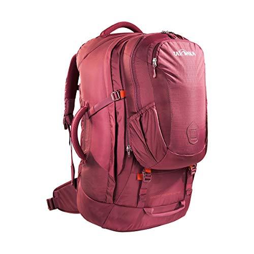 Tatonka Great Escape 50+10 - Reiserucksack mit abnehmbarem Daypack (10l) - für Damen und Herren - 60 Liter - 64 x 30 x 18 cm - Bordeaux red