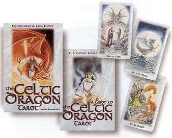 NEW Celtic Dragon tarot deck & book  Tarot Deck & Book Sets