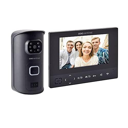 SCS Sentinel PVS0009 casa videoteléfono-Video sin Hilos del teléfono-intercomunicador de Puerta Pantalla tactil Portero inalámbrico Airvisio 200-PVS0009