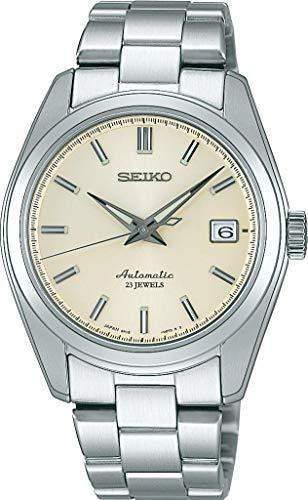 Seiko Automatik SARB035 - Reloj analógico automático para Hombre, Correa de Acero Inoxidable Color Plateado (Agujas luminiscentes, Cifras luminiscentes)