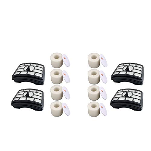 Great Price! LOVIVER Set of 12 Professional Foam & Felt Filter for Shark NV500 Series