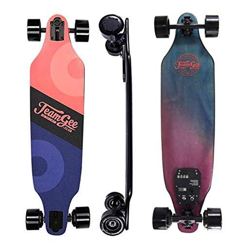 HIOD Elektrisches Skateboard Longboard Brushless Motor Kilometerstand 25KM