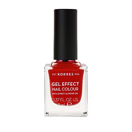 Korres Sweet Almond Nagellack, 53 royal red,1er Pack (1 x 11 ml)