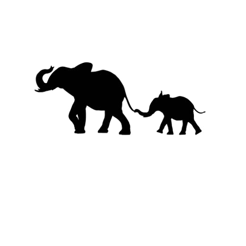 photograph regarding Printable Elephant Stencil titled Elephant Stencils: