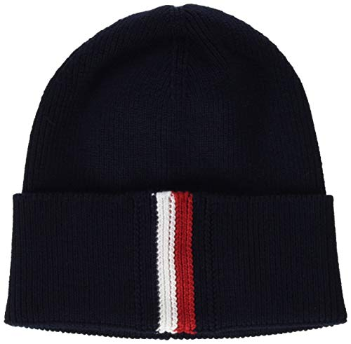 Tommy Hilfiger heren Corporate Pima Cotton beanie gebreide muts