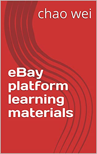 eBay platform learning materials (English Edition)
