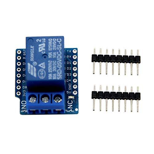Losenlli Relay Shield para Arduino WeMos D1 Mini ESP8266 Junta de Desarrollo