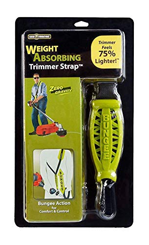 Buy Cheap Good Vibrations Zero Gravity - Universal Weight Absorbing String Trimmer Strap with Bungee...