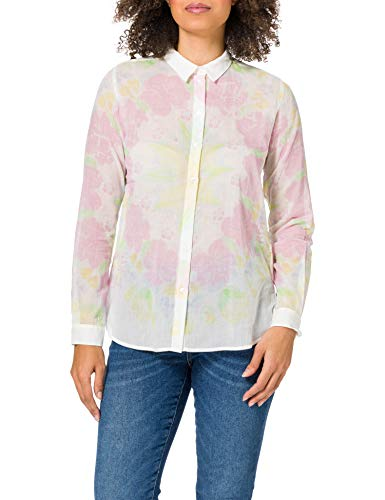 Desigual CAM_Yukon Camiseta, Blanco, XL para Mujer