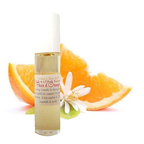 Roll-on à l' Huile Essentielle Rare et Précieuse de Fleur d'Oranger - Néroli 10ml