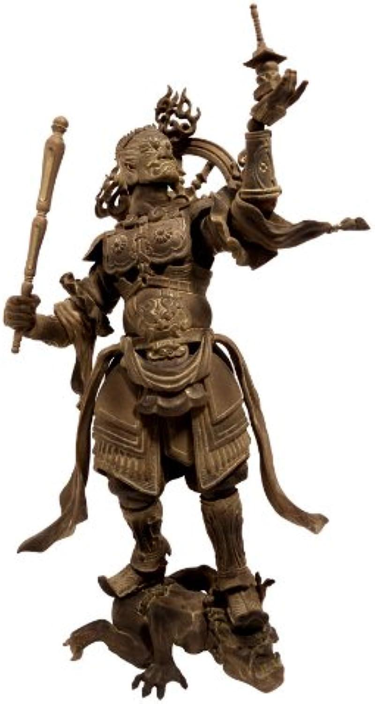 Kaiyodo Takeya Revoltech Action Figure   001 Tamonten Wooden Version