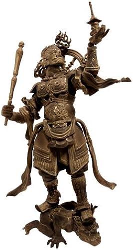 auténtico Kaiyodo Kaiyodo Kaiyodo Takeya Revoltech Action Figure   001 Tamonten Wooden Version (japan import)  barato en línea