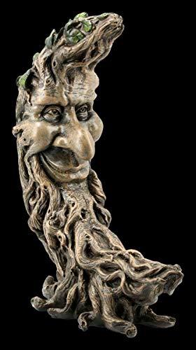 Figuren Shop GmbH Waldgeist Fantasy-Figur - Moon Oak   Dekofigur, Deko-Artikel, Skulptur, Statue, H 25,5 cm