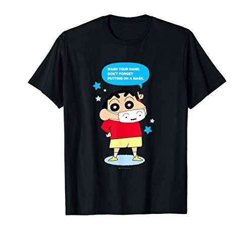 Crayon Shin-chan DON'T FORGET PUTTING ON A MASK T-Shirt