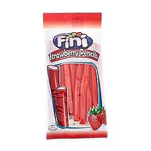 fini strawberry pencils - 250g, average 15 pencils per pack Fini Strawberry Pencils – 250g, average 15 pencils per pack 41 meZTBsbL