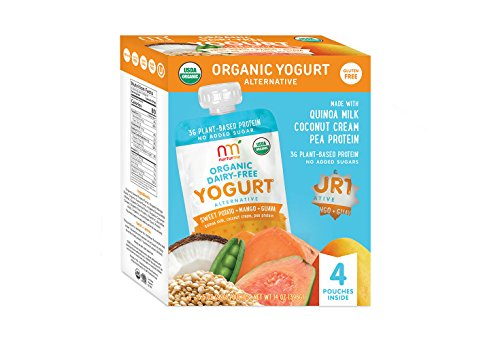 NurturMe NurturMe Organic Dairy Free Yogurt, Sweet Potato, Mango and Guava, 4 Count, 1 Pound