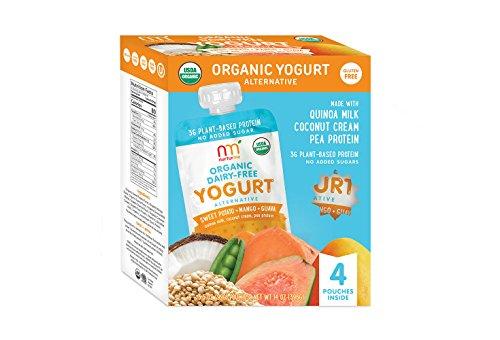 NurturMe NurturMe Organic Dairy Free Yogurt, Sweet Potato, Mango and Guava, 4 Count, 1 Pound