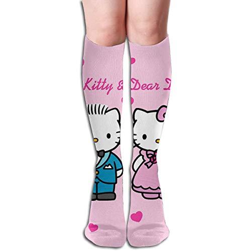 Calcetines hasta la rodilla Hello Kitty and Dear Daniel - Calcetines de...