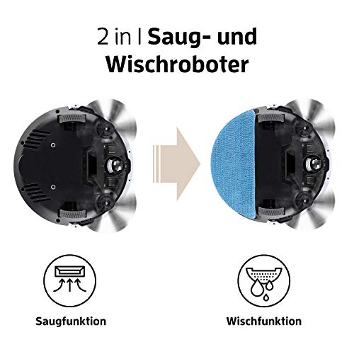 ZACO V5x Saugroboter App & Alexa Steuerung - 2