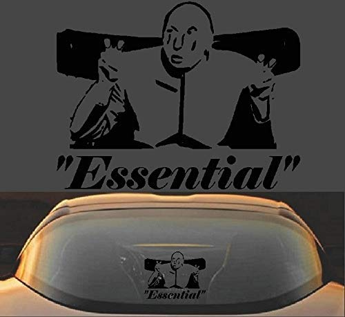 Amazon Com Dr Evil Air Quotes Essential Employee Funny Austin Powers Vinyl Decal Sticker Handmade