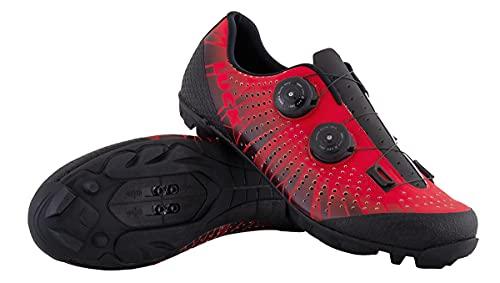 LUCK Spider   Zapatillas MTB Ciclismo Horma Ancha   Hombre y Mujer...
