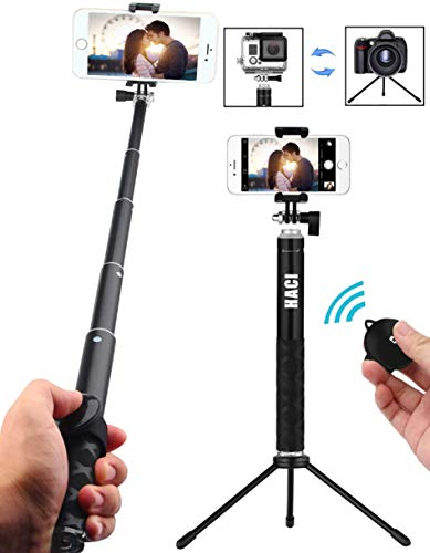Selfie Stick Tripod with Bluetooth Remote for iphone 6 6s 7 plus...
