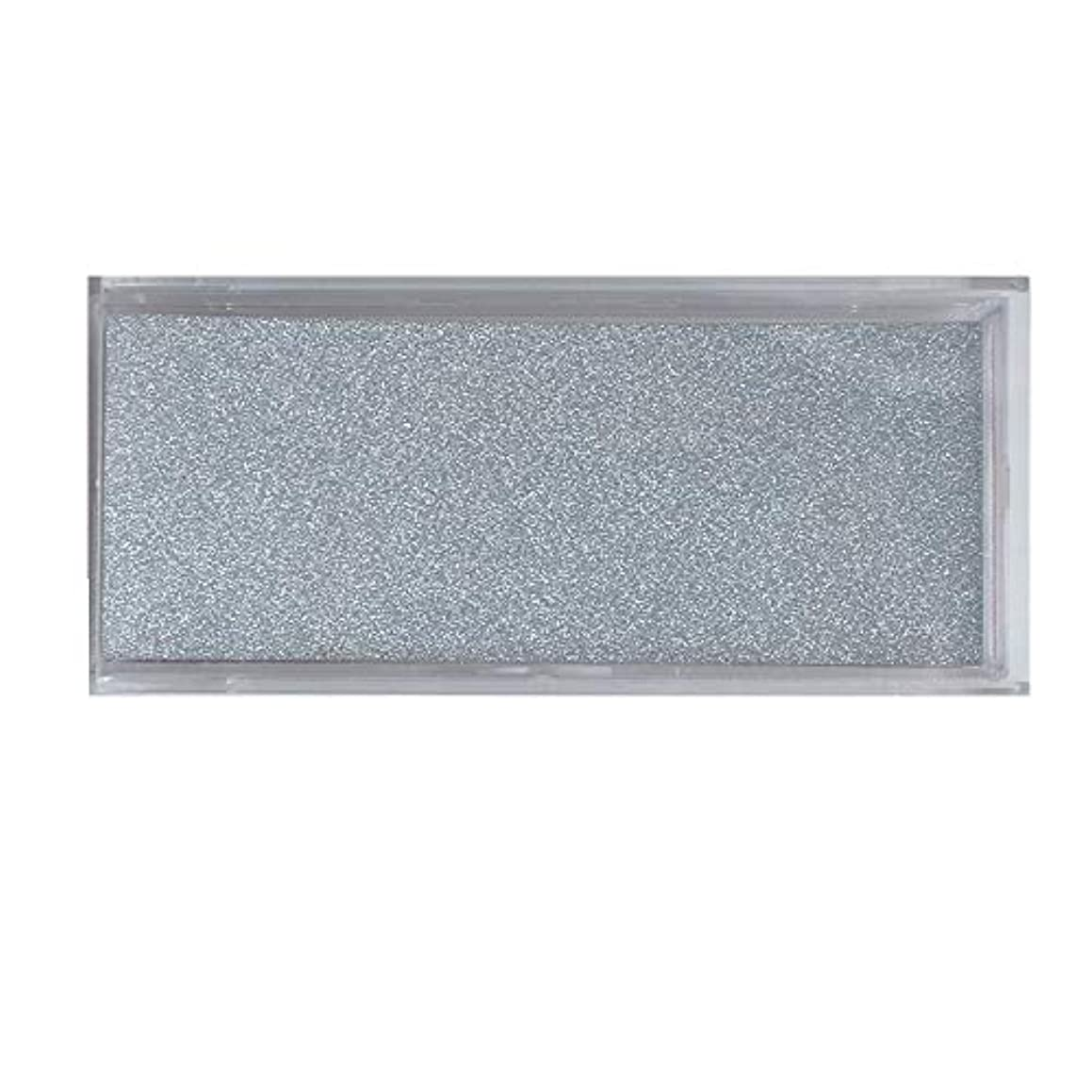Set of 10 Empty Lash Box Glitter Silver Paper Plastic Eyelash Packing Box (Silver Card)