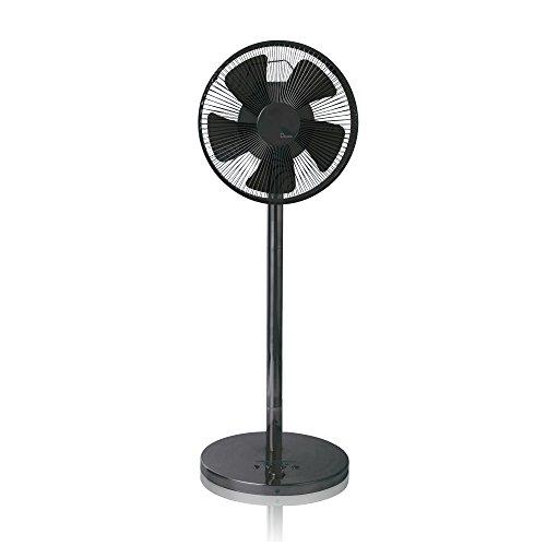 阪和 【DCモーター搭載】リモコン付リビング型扇風機 「Devetal」(5枚羽根)DVL-5012LF-GM ガンメタ