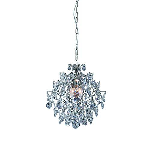 Markslöjd 100525 Kronleuchter, Metall, E14, 42 cm, transparent