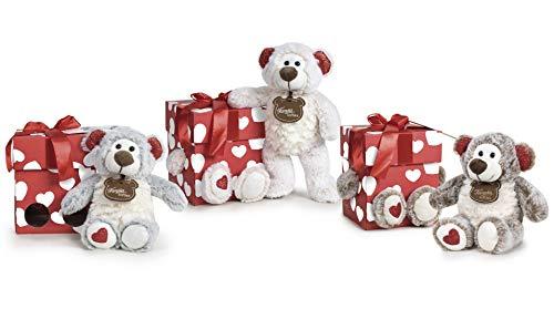 Famosa Softies - Happy Valentine, Oso de peluche de 32cm con