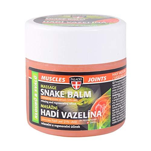 Palacio erfrischende & entspannende Massagebalsam für Gelenke, Muskeln und Rücken mit Schlangengift - 125 ml!