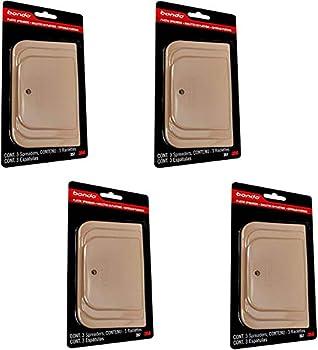 Bondo 357 Plastic Spreaders 3 Piece 4 Pack