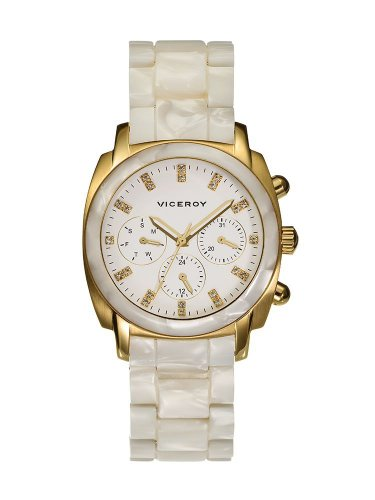 Viceroy Damen Multi Zifferblatt Quarz Uhr mit Keramik Armband 47800-07