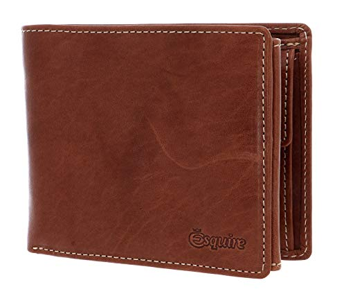 Esquire Denver RFID Billfold Wallet Cognac