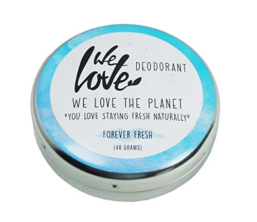 We Love The Planet Natürliche Deocreme - Forever Fresh, 48 g