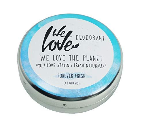 We Love The Planet Natürliche Deocreme - Forever Fresh, 48 g