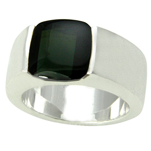 grüner Turmalin Ring Silber Goldschmiedearbeit (Sterlingsilber 925) - Turmalinring - Unikatanfertigung mit Expertise