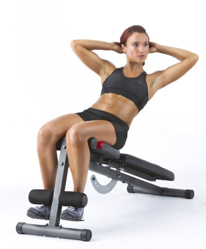 Product Image 2: Weider Incline Weight Bench black, 40L x 18.25W x 53.5H inches