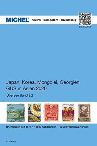 Japan, Korea, Mongolei, GUS in Asien 2020: ÜK 9.2 (MICHEL-Übersee / ÜK)