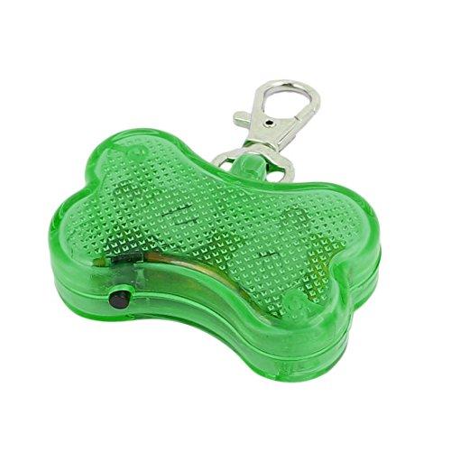 Aexit Grüne LED Licht Knochenform Hund Blinker Blinkende Sicherheit Anhänger Kragen Geschenk (938efa1f4f1a85ca5b5a7c06ebbcb713)