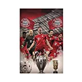 Poster, Motiv: Bayern München Spieler, Robert Lewandowski,