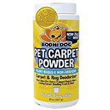 Natural Dog Odor Carpet Powder | Dry Pet Smell Eliminator | Remove Urine Smells | Plant Based and Biodegradable Room Powder | Loosens Fur and Dirt