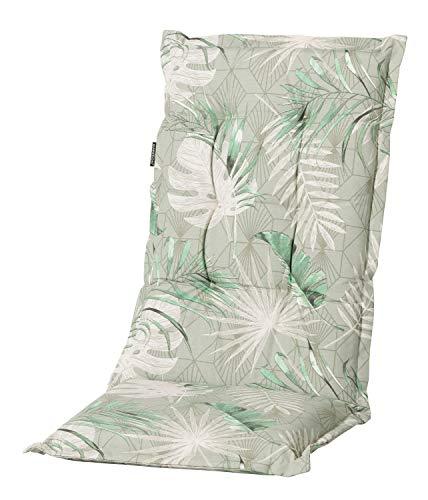 GRASEKAMP Qualität seit 1972 Auflage Palmen Blätter Grün zu Gartensessel Kissen Gartenstuhl Klappstuhl