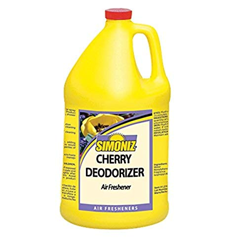 Simoniz C0542004 Cherry Deodorizer, 1 gal Bottles per Case (Pack of 4)